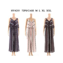 36 Units of Womens Fashion Jumpsuit Assorted Sizes And Color - Womens Rompers & Outfit Sets