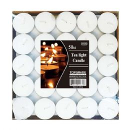 24 Bulk 50 Count Tea Light Candle