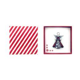 36 Bulk Red Angel Pin Gift Box
