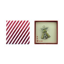36 Bulk Gift Box With Angel Pin