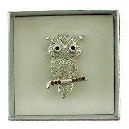 36 Bulk Owl Pin With Gift Box