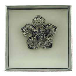 36 Bulk Flower Pin With Gift Box