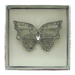 36 Units of Butterfly Pin With Gift Box - Jewelry Box