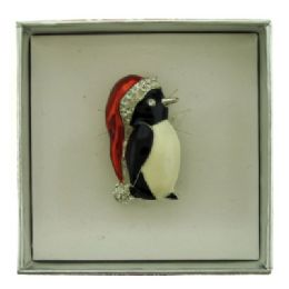 36 Bulk Penguin Pin With Gift Box