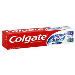 96 Units of Colgate Triple Action - Toothbrushes and Toothpaste