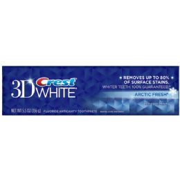 24 Units of Crest Tooth Paste 3d Whitening Artic 5.5oz - Personal Care Items