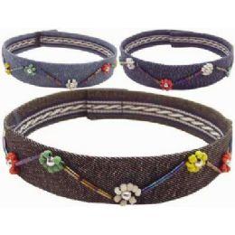 36 Wholesale Denim Necklace