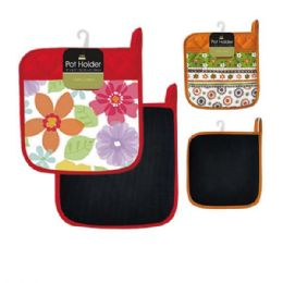 96 Units of Deluxe Pot Holder - Oven Mits & Pot Holders