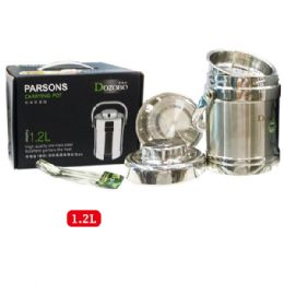 12 Units of 1.2l Stainless Food Pot - Stainless Steel Cookware