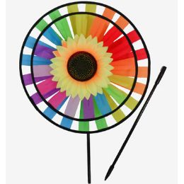 60 Units of WindmilL-2 Wheels Sun Flower - Wind Spinners