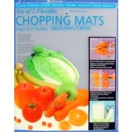 24 Units of 2 Pack Of Plastic Cutting Boards - Cutting Boards