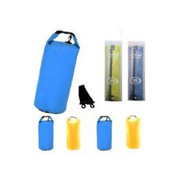 12 Units of Camping Waterproof Bag 25 Liter Blue - Camping Gear