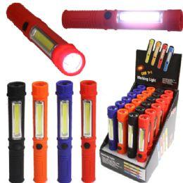 72 Units of Light 008 Led Pocket Light - Flash Lights