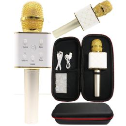 6 Bulk Karaoke Microphone Gold Only