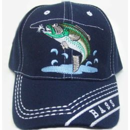 144 Units of Bass Cap - Hats With Sayings