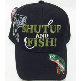 144 Units of Fishing Cap - Hats With Sayings