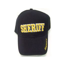 144 Units of Sheriff Cap - Hats With Sayings