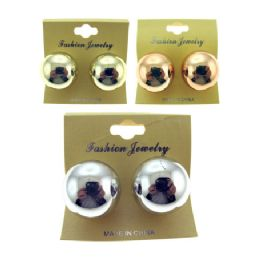 36 Units of Post Earring - Earrings