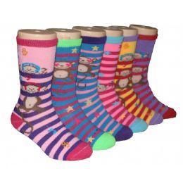 480 Bulk Girls Monkey Bars Crew Socks