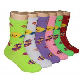 480 Bulk Girls Baby Chics Crew Socks