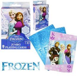 48 Bulk Disney's Frozen Jumbo Playing Cards
