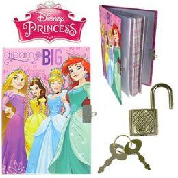 48 Wholesale Disney's Princess Diary W/ Lock