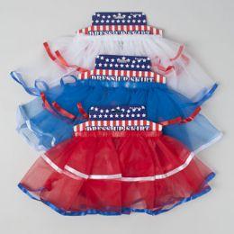 72 Units of Patriotic Tutu Skirts - 4th Of July