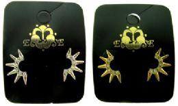 36 Units of Spike Post Style Earrings - Earrings
