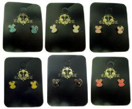 36 Units of Bunny Post Earrings - Earrings