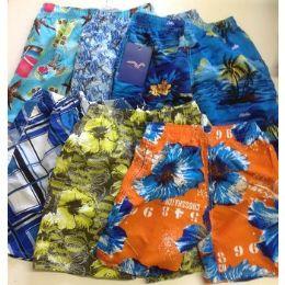 72 Units of Boys SwimweaR- Assorted Sizes - Boys Shorts