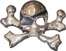 24 of Pirate Skull And Cross Bones Belt Buckle