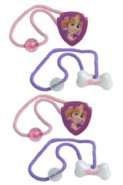 24 Units of Paw Patrol Hair Accessories - PonyTail Holders