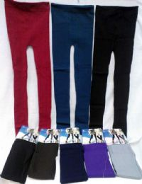 12 of Leggings Solid Color With Patterns