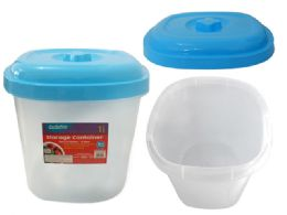 24 Bulk 16l Blue Storage Container
