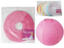 """288 Units of 12"""" Paper Lantern - Hanging Decorations & Cut Out"""