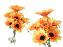144 Bulk 9 Head Sunflower Bouquet
