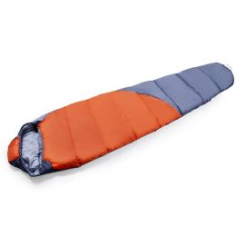 4 of 1 Person Sleeping Bag With Diagonal Pattern