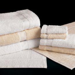 24 Units of White Bath Towels Standard Size 24 X 48 - Bath Towels