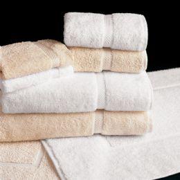 12 Units of White Bath Towels Deluxe Size 27 X 54 - Bath Towels