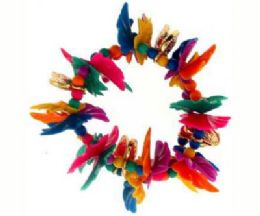 72 Bulk Assorted Color Transparent And Translucent Petal Beads