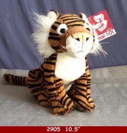 "24 Bulk 10.5"" Plush Toy Tiger"