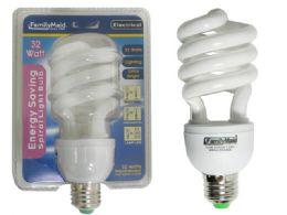72 Bulk 32 Watt Energy Saving Spiral Lightbulb