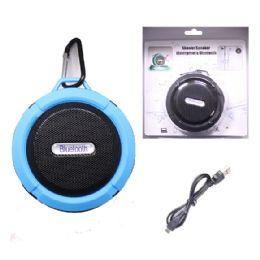 12 Units of Waterproof Bluetooth Shower Speaker In Blue - Speakers and Microphones