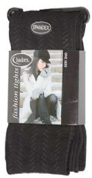36 Units of Queens Size Women's Heavy Tights - Womens Tights