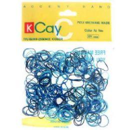 72 Bulk Assorted Colored Mini Rubber Bands