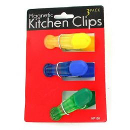36 Units of Magnetic Kitchen Clips - Refrigerator Magnets
