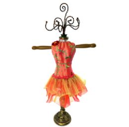 5 Units of Pink Ornate Jewelry Display Doll - Displays & Fixtures