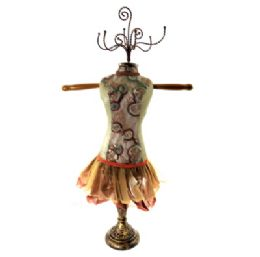 4 Units of Tan Ornate Jewelry Display Doll - Displays & Fixtures