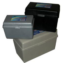 18 Bulk Index Card Box, Nested, 3 Pk 1 Each Of 3x5, 4x6, 5x8