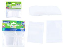 144 Units of 100 Pc Reclosable Bags - Food Storage Containers